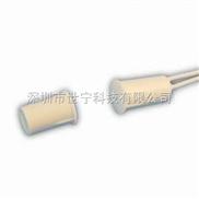 厂家直销乳白色嵌入式有线门磁楼宇控制器磁感应有线木门磁结点门磁