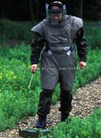扫雷防护服