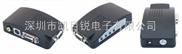 AV/BNC/RCA/S端子轉VGA /AV轉VGA視頻轉換器