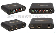 YPbPr转HDMI高清视频转换器