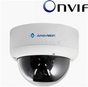 安远科技百万高清网络摄像机 监控摄像机 半球摄像机 手动调焦