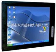 17寸真彩LCD平板显示器、嵌入式、触摸屏