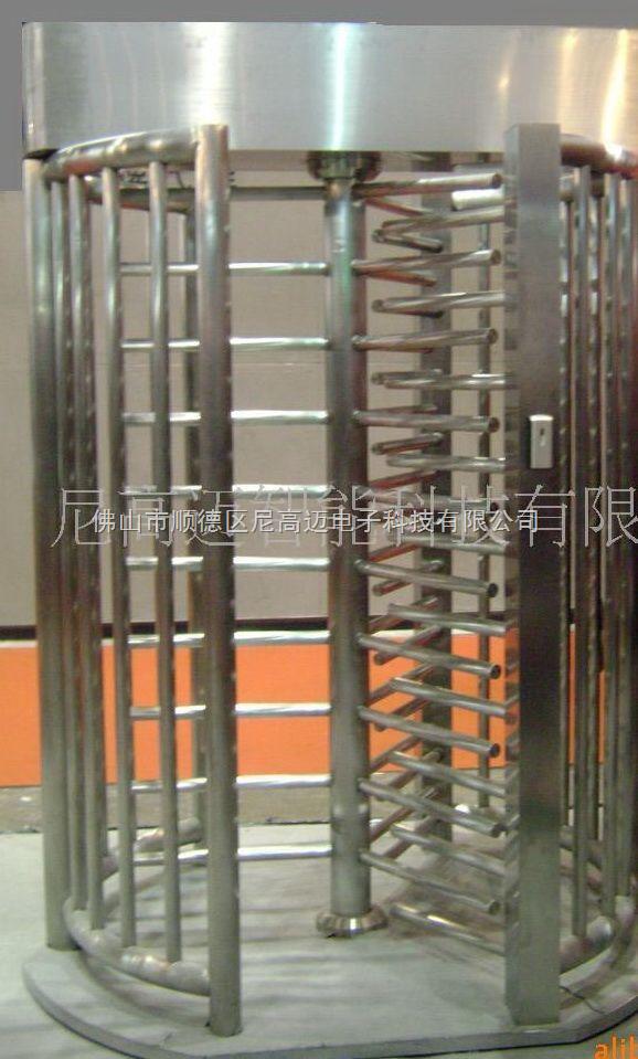 三扇全高转闸,智能ID卡考勤旋转闸机,北京企业一卡通栅栏门