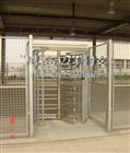 NGM-Q01-2三翼安全门,半自动全高转闸技术资料,全高旋转栏杆闸机厂家