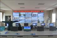 江陵110监控指挥中心46寸超窄边3X5拼接幕墙