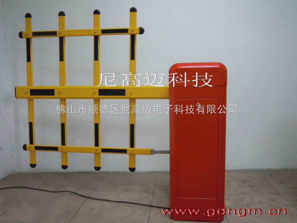 双层栏栅道闸,电子栏杆自动防砸挡车器,三栏杆升降道闸