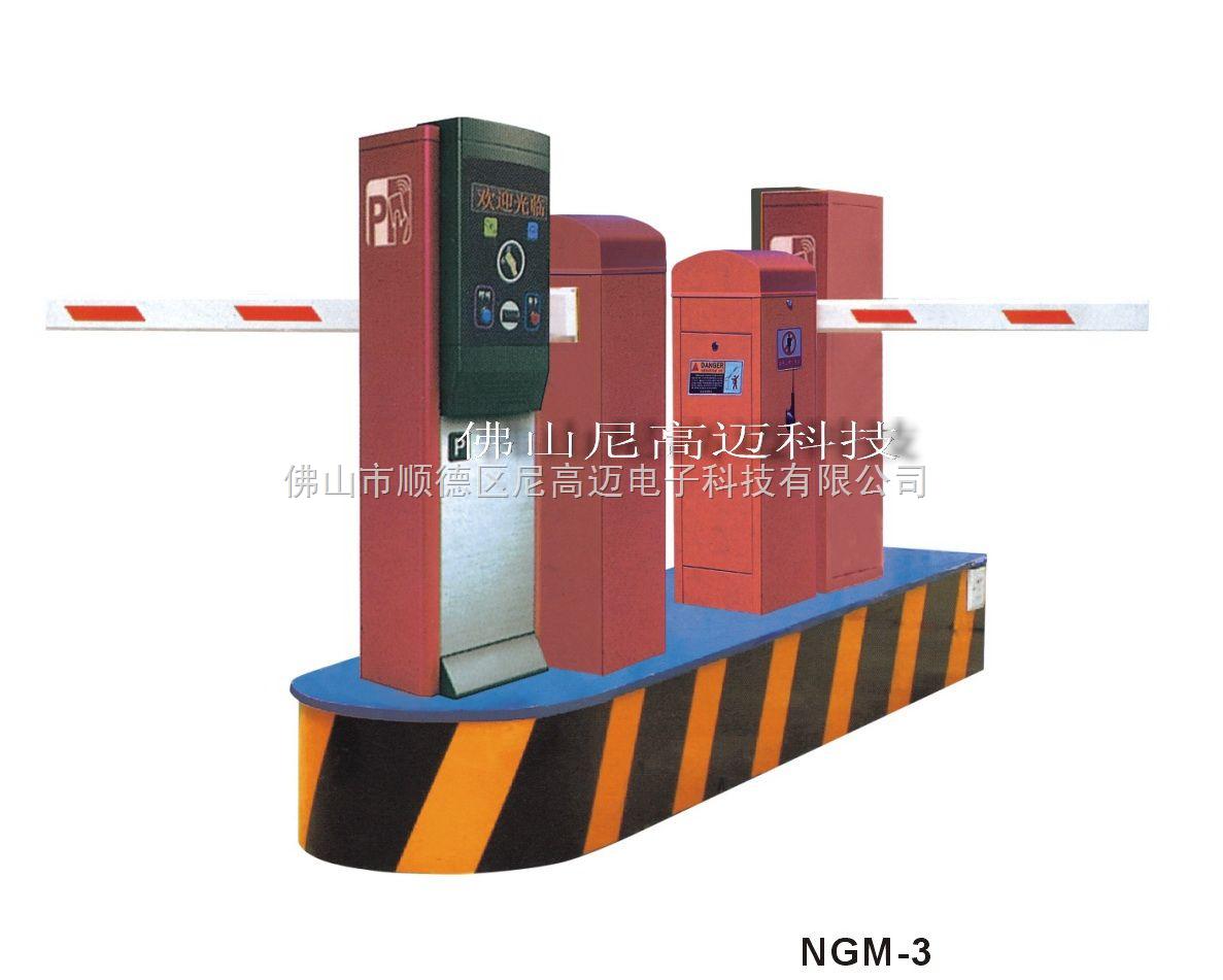 标准型停车场设备,入口取卡临时计费系统,智能停车场系统方案