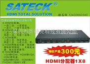 HDMI分配器一进八科技高清产品