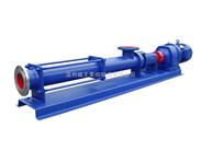 威王廠家生產GF不�袗�單螺桿泵