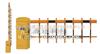 NGM-DZ05单层栏栅道闸,二杆防钻遥控道闸门,电动栏杆栅栏式挡闸